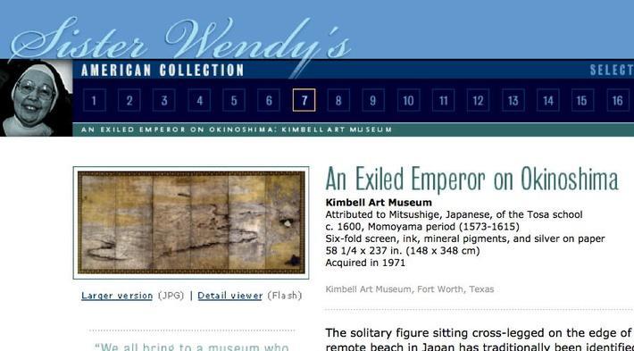 An Exiled Emperor on Okinoshima