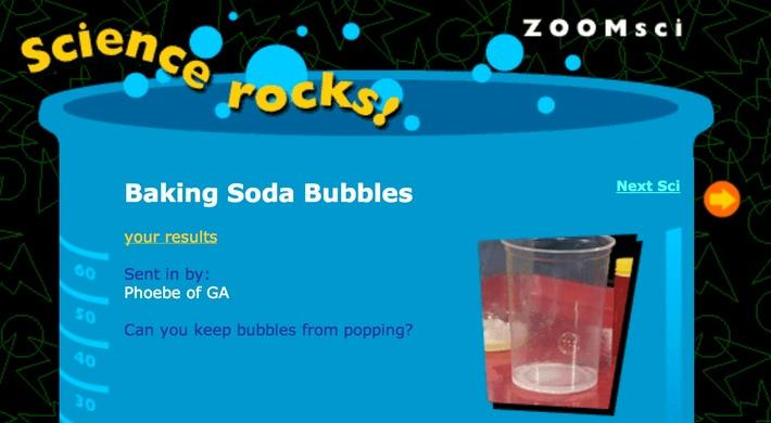 Baking Soda Bubbles
