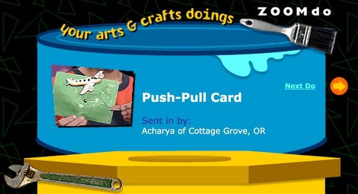 Push-Pull Card