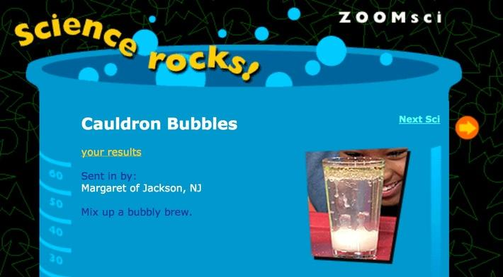 Cauldron Bubbles