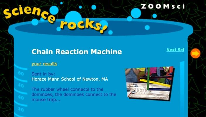 Chain Reaction Machine