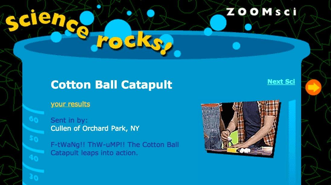 Cotton Ball Catapult | Zoom
