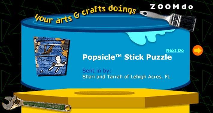 Popsicle™ Stick Puzzle