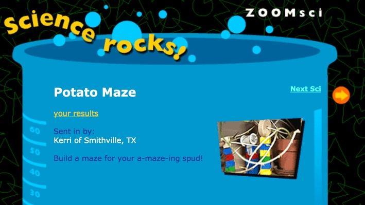 Potato Maze