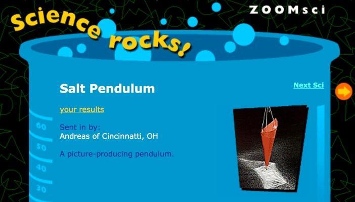 Salt Pendulum