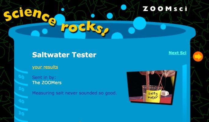 Saltwater Tester