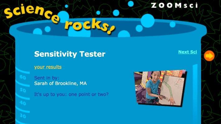 Sensitivity Tester