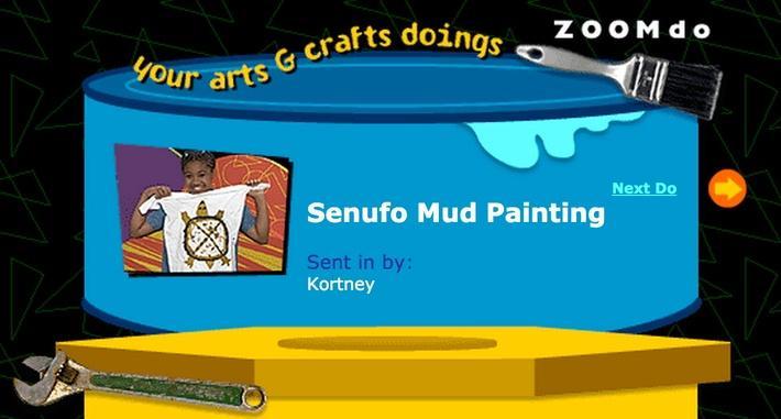 Senufo Mud Painting