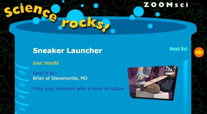Sneaker Launcher