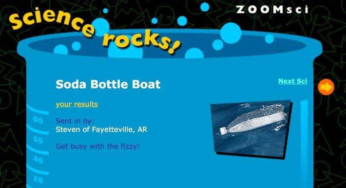 Soda Bottle Boat