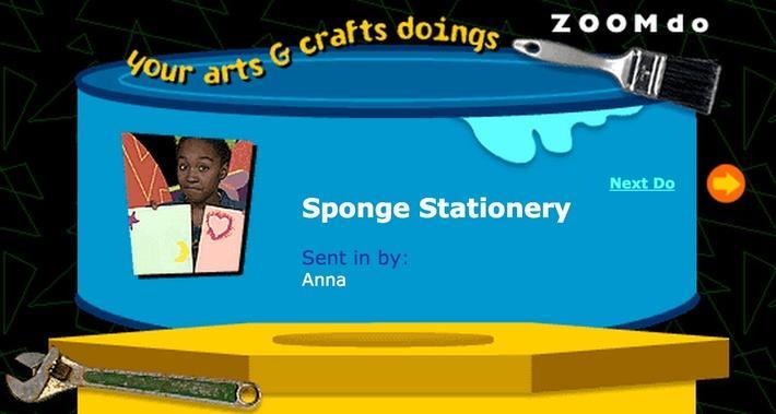 Sponge Stationary