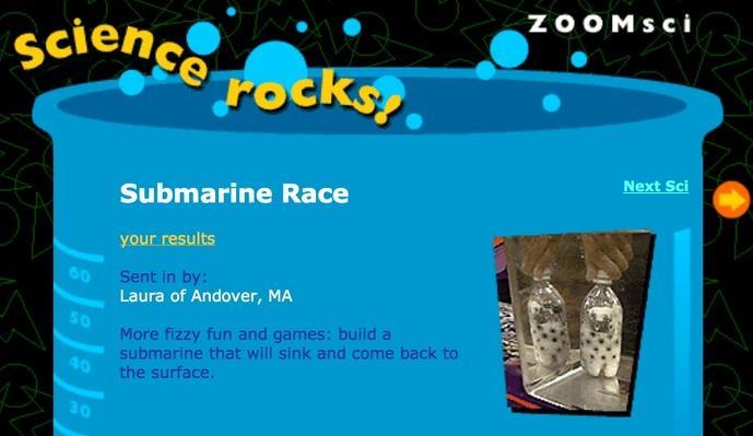Submarine Race