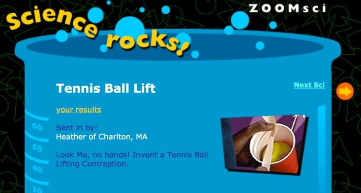 Tennis Ball Lift
