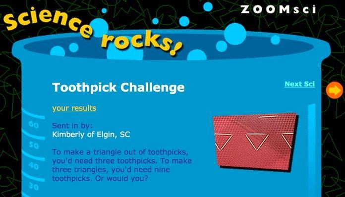 Toothpick Challenge