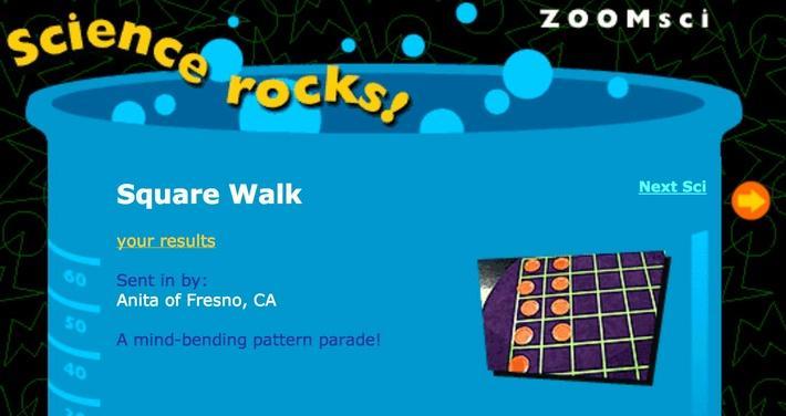 Square Walk