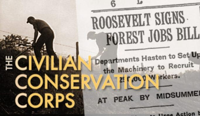 The Civilian Conservation Corps - Map: CCC Camps Across America