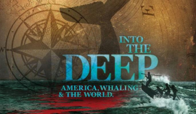 Into the Deep: America, Whaling & the World - Map, static: Whaling Ports of the 1850s
