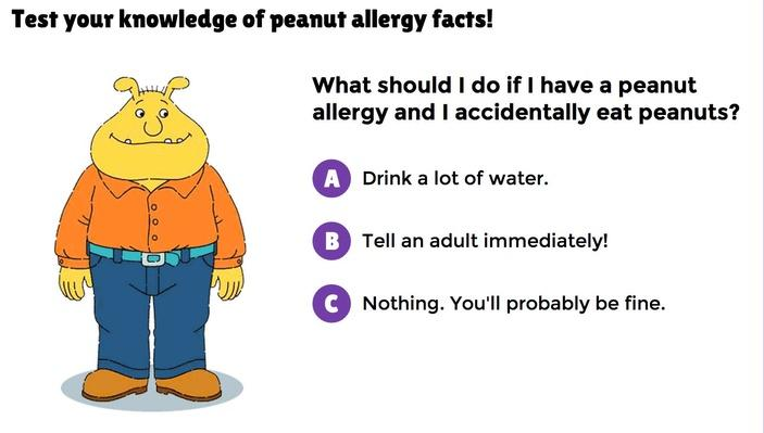 Peanut Allergy Quiz