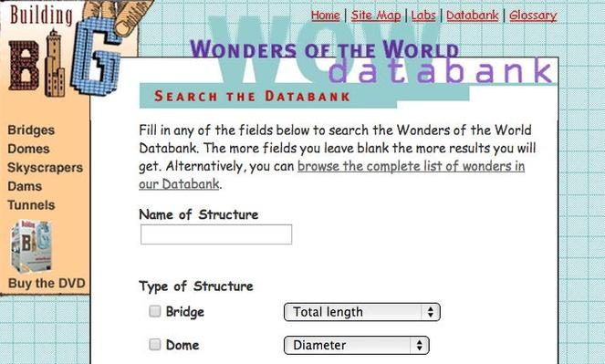 Building Big | Wonders of the World Databank