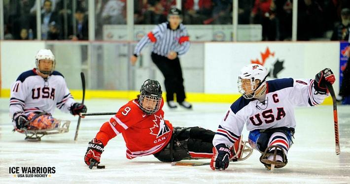 Ice Warriors: About Sled Hockey