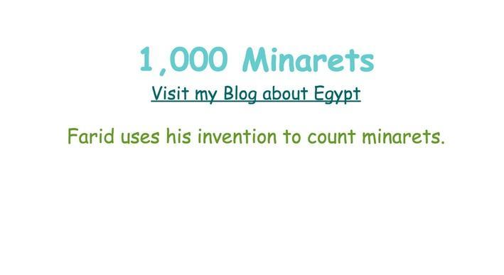 1,000 Minarets