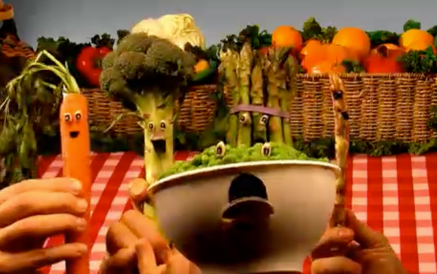 Between the Lions - Vegetable Medley
