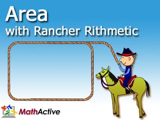 Area with Rancher Rithmetic (Navajo Voice) | Math Active