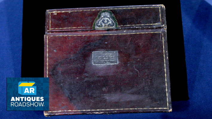 Eliza Law Custis Lap Desk, ca. 1795 | ANTIQUES ROADSHOW