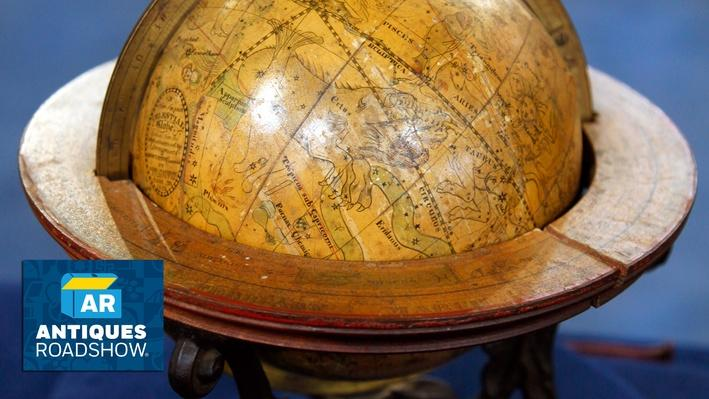 1852 Merriam & Moore Celestial Globe | ANTIQUES ROADSHOW