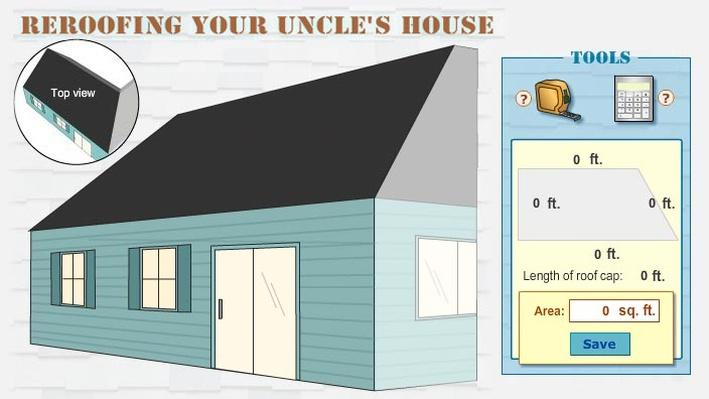 Reroofing Your Uncle's House