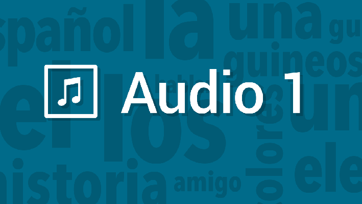 Narration | Pronunciation Audio | Supplemental Spanish Grades 3-5