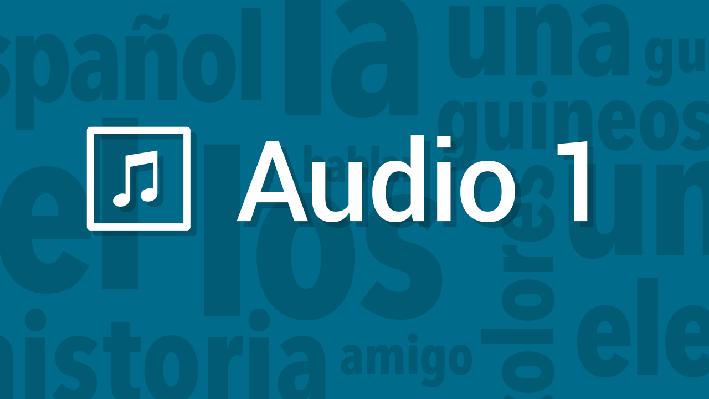 Narration | Pronunciation Audio | Supplemental Spanish Grades 3-5