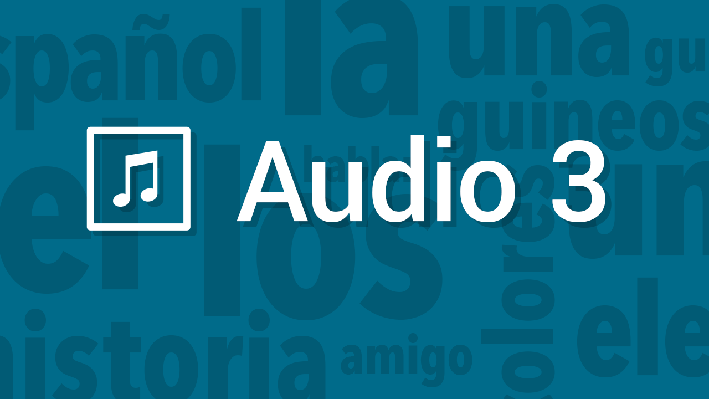Writing - Vocabulary - Culturally Appropriate | Pronunciation Audio | Supplemental Spanish Grades 3-5