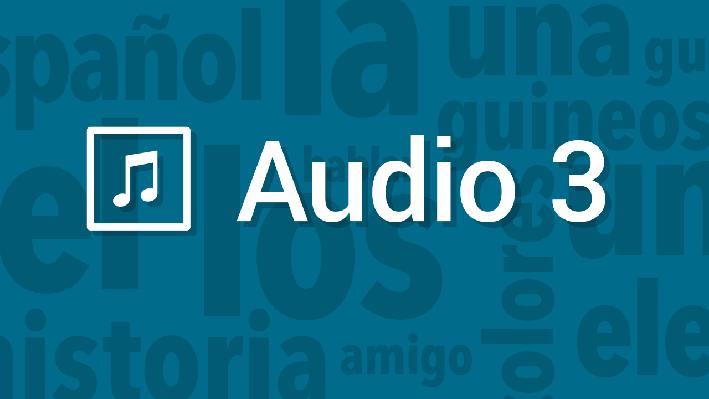 Writing - Structure | Pronunciation Audio | Supplemental Spanish Grades 3-5