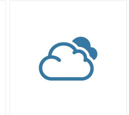 Weather Icons: Colored Series   Clipart