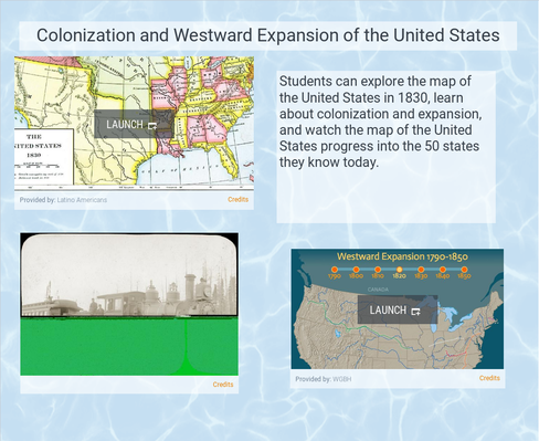Colonization and Westward Expansion of the United States