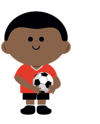 Children's Soccer Team | Clipart