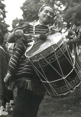 Hispanic Culture in Utah: Hecho en Utah (Made in Utah): Marcos Caballero Playing the Bombo