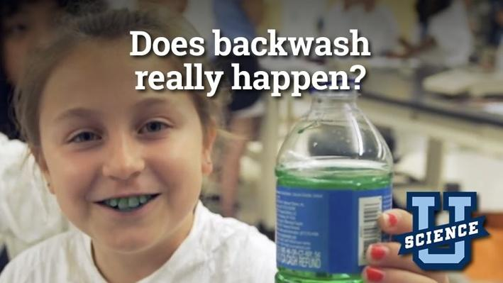 Does Backwash Really Happen? | Science-U