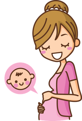 Expecting A Baby Clipart Pregnant Women ...