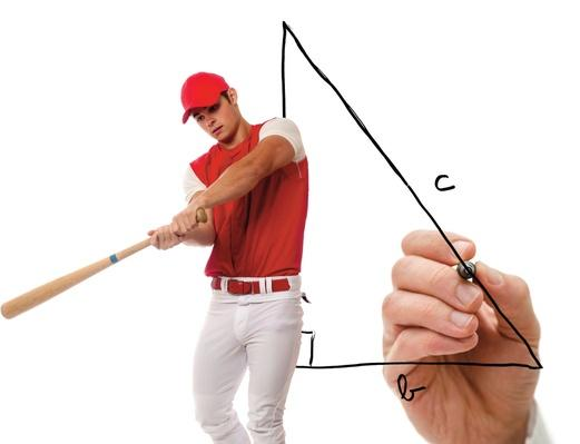 Baseball Math Pythagorean Theorem