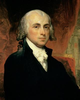 James Madison (1751-1836) (oil on canvas) | American Presidential Portraits