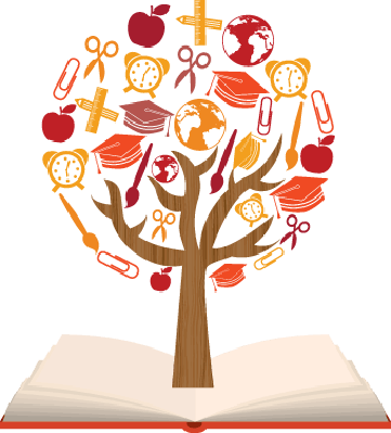 School Symbols - Learning Tree 1 | Clipart