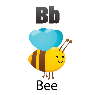 Animal Alphabet - B for Bee | Clipart | The Arts | Image | PBS ...