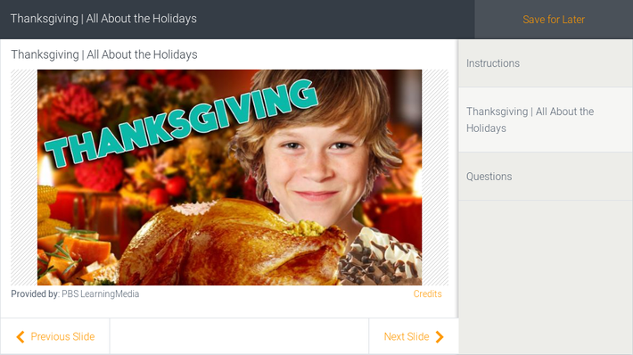 Thanksgiving | All About the Holidays
