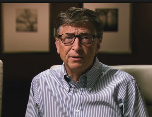 Bill Gates Recites the Gettysburg Address