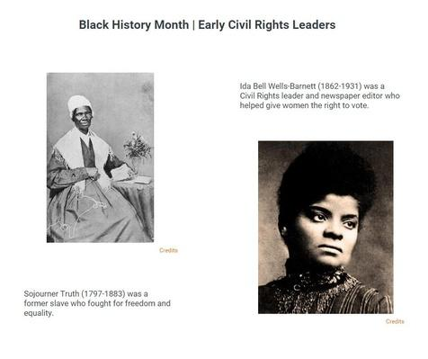 Black History Month | Early Civil Rights Leaders