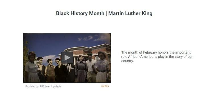 Black History Month | Martin Luther King
