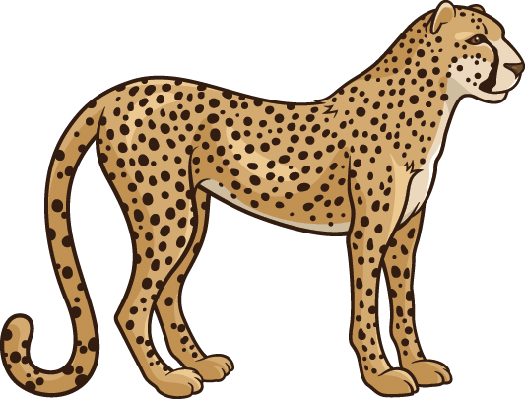 cheetah clipart the arts image pbs learningmedia rh pbslearningmedia org cheetah clip art images clipart cheetah black and white
