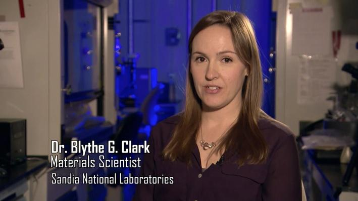 Dr. Blythe G. Clark, Materials Scientist